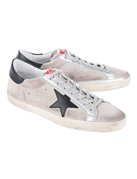 GOLDEN GOOSE DELUXE BRAND Superstar Sand Suede Black Star