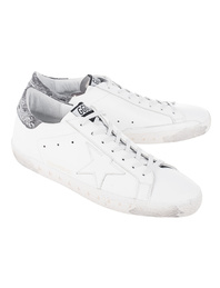 GOLDEN GOOSE DELUXE BRAND Superstar White Leather/Landed