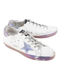 GOLDEN GOOSE DELUXE BRAND Superstar Sparkle White