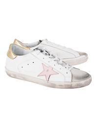 GOLDEN GOOSE DELUXE BRAND Superstar Pink Star White