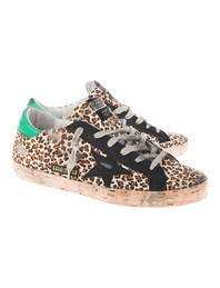 GOLDEN GOOSE DELUXE BRAND Superstar Leopard Brown