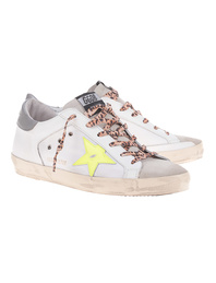 GOLDEN GOOSE DELUXE BRAND Superstar Canvas Leo White