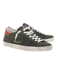 GOLDEN GOOSE DELUXE BRAND Superstar Olive