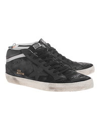 GOLDEN GOOSE DELUXE BRAND Mid Star Black