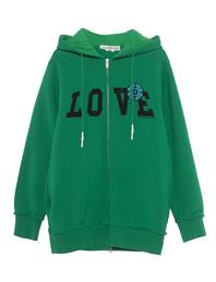 GOLDEN GOOSE DELUXE BRAND Hiromi Love Green