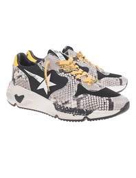 GOLDEN GOOSE DELUXE BRAND Running Sole Snake Multicolor