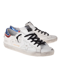 GOLDEN GOOSE DELUXE BRAND Superstar Texas SL White