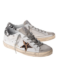 GOLDEN GOOSE DELUXE BRAND Superstar Leo Star White