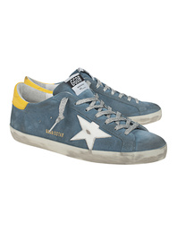 GOLDEN GOOSE DELUXE BRAND Superstar Yellow Blue