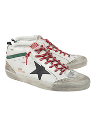 GOLDEN GOOSE DELUXE BRAND Mid Star Green White