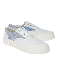 GOOD NEWS Paisley Opal White Blue