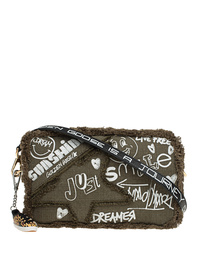 GOLDEN GOOSE DELUXE BRAND Star Washed Writings Dark Green