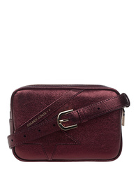 GOLDEN GOOSE DELUXE BRAND Star Belt Bag Bordeaux