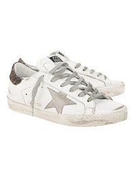 GOLDEN GOOSE DELUXE BRAND Superstar Lurex Leo White