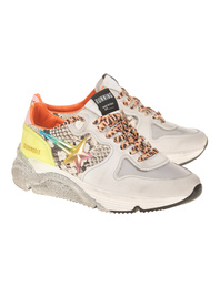 GOLDEN GOOSE DELUXE BRAND Running Sole Python Multicolor