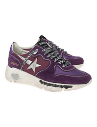 GOLDEN GOOSE DELUXE BRAND Running Sole Nylon Quarter Purple