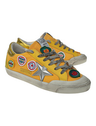 GOLDEN GOOSE DELUXE BRAND Superstar Classic Patches Yellow