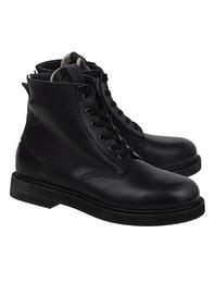 GOLDEN GOOSE DELUXE BRAND Ele Leather Black
