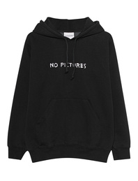 NASASEASONS No Pictures Hoodie Black