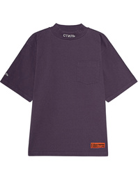 HERON PRESTON Turtleneck Pocket CTNMB Purple