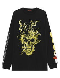 HERON PRESTON Skull Off Black