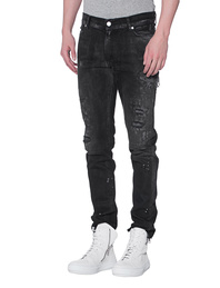 ALYX Zip Back Jean Black