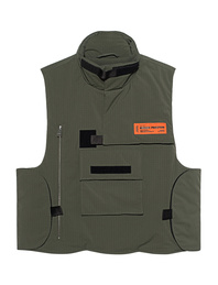 HERON PRESTON Ripstop Vest Military Dark Olive