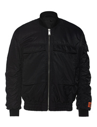 HERON PRESTON Bomber Nylon Pockets Black