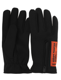 HERON PRESTON Gloves Logo Black