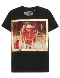 Bastille Santa Klaus Backprint Black