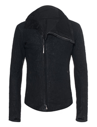 Isaac Sellam Lambskin Zipper Black