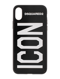 DSQUARED2 Iphone X ICON 3D Black