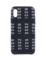 DSQUARED2 iPhone X Case Denim Blue