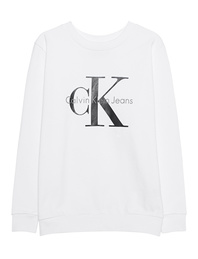 CALVIN KLEIN JEANS CK Sweat Logo Bright White