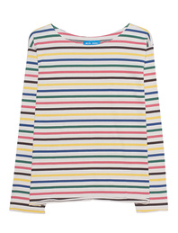 M.i.h JEANS Simple Mariniere Rainbow Stripes