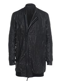 BORIS BIDJAN SABERI Leather Long Black