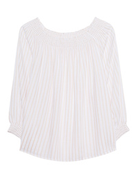 JADICTED Off-Shoulder White Sand