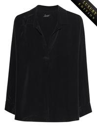 JADICTED Classy Heavy Silk Black