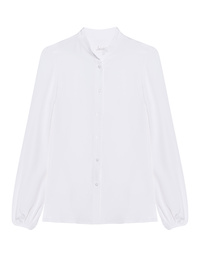 JADICTED Heavy Silk Blouse White