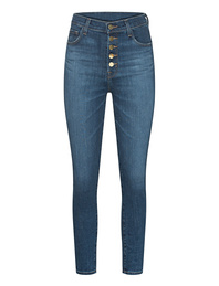 J BRAND Lillie Super High Rise Crop Skinny Blue
