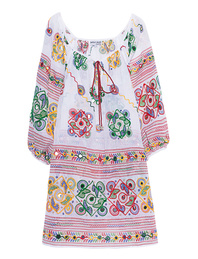 JULIET DUNN Boho White Multi