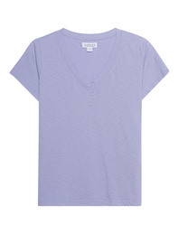 VELVET BY GRAHAM & SPENCER Jill V-Neck Lavender