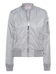 Schott NYC Bomber Silver Grey