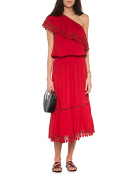 Melissa Odabash Jo Red One Shoulder