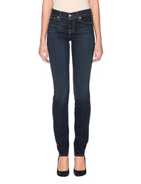 7 FOR ALL MANKIND Roxeanne Bair Rinsed Indigo Blue