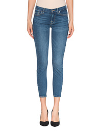 7 FOR ALL MANKIND Skinny Crop Bair Vintage Dusk Blue