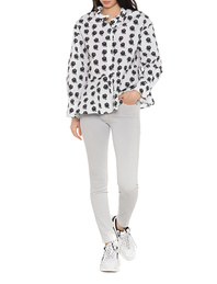 7 FOR ALL MANKIND The Skinny Crop Lightgrey