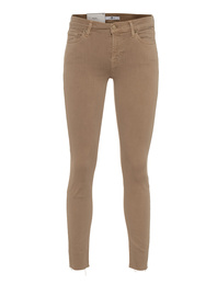 7 FOR ALL MANKIND The Skinny Crop Beige
