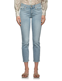 7 FOR ALL MANKIND Roxanne Ankle Blurred  Light Blue