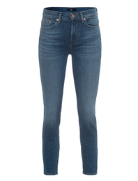 7 FOR ALL MANKIND Roxanne Ankle Slim Blue
